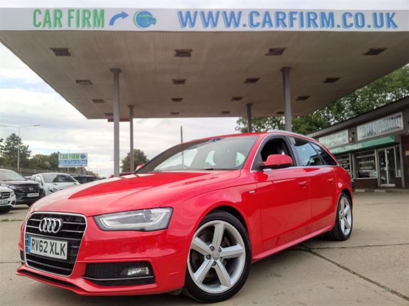 used Audi A4 Avant TDI S LINE in cambridgeshire