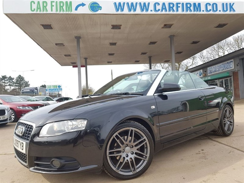 used Audi A4 TDI S LINE SPECIAL EDITION in cambridgeshire