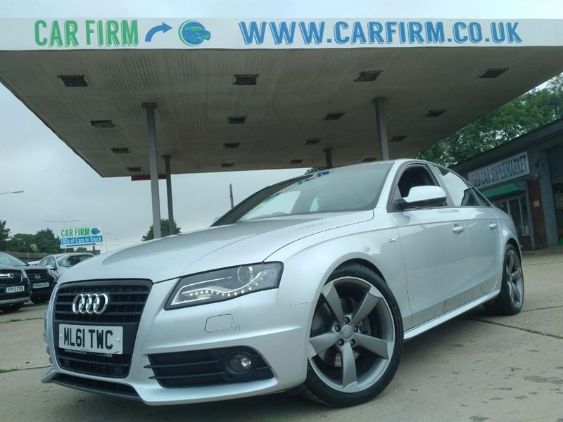 used Audi A4 TDI S LINE BLACK EDITION in cambridgeshire