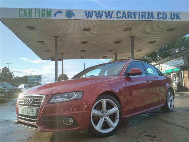 used Audi A4 TDI S LINE in cambridgeshire