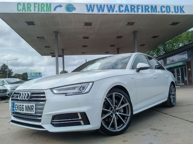 used Audi A4 TDI QUATTRO S LINE in cambridgeshire