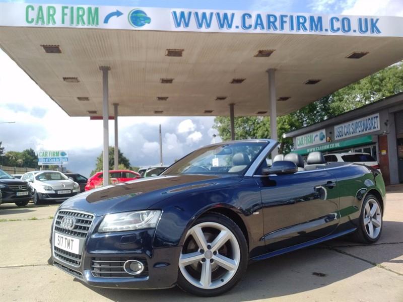 used Audi A5 TDI S LINE in cambridgeshire