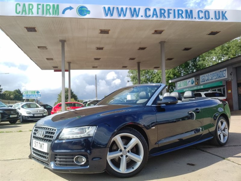 used Audi A5 TDI S LINE in cambridgeshire
