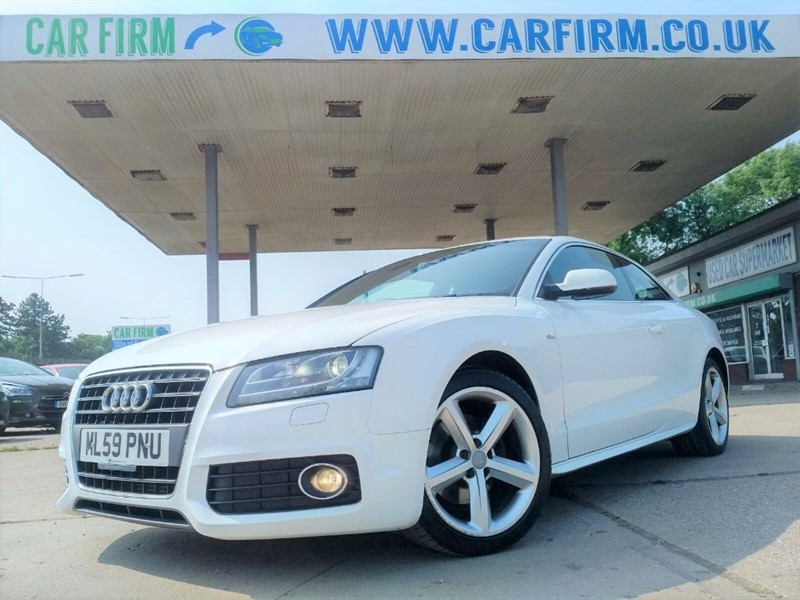 used Audi A5 TFSI S LINE in cambridgeshire