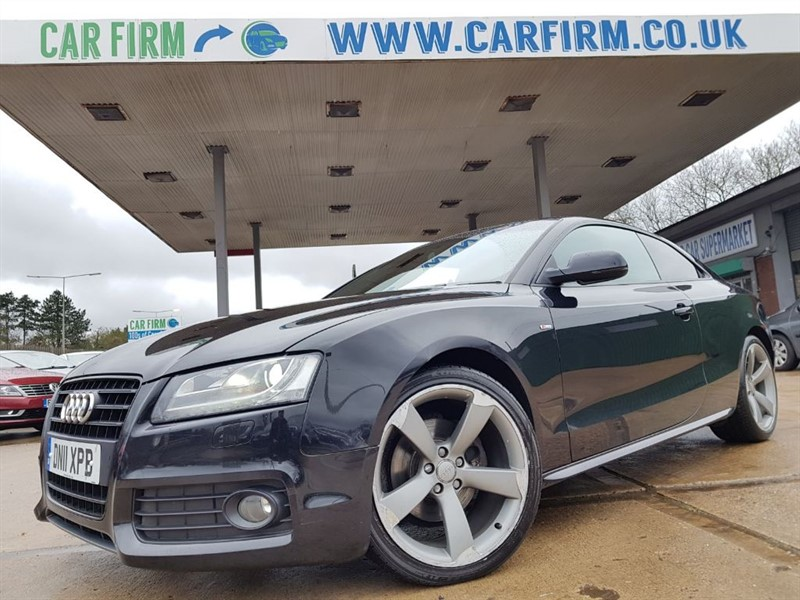 used Audi A5 TFSI S LINE BLACK EDITION in cambridgeshire