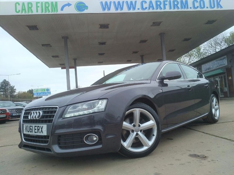 used Audi A5 SPORTBACK TFSI S LINE in cambridgeshire