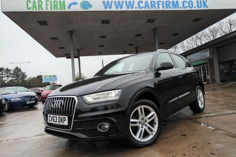 used Audi Q3 TDI S LINE in cambridgeshire