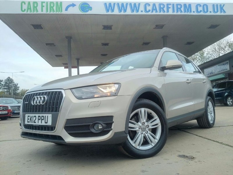 used Audi Q3 TFSI QUATTRO SE in cambridgeshire