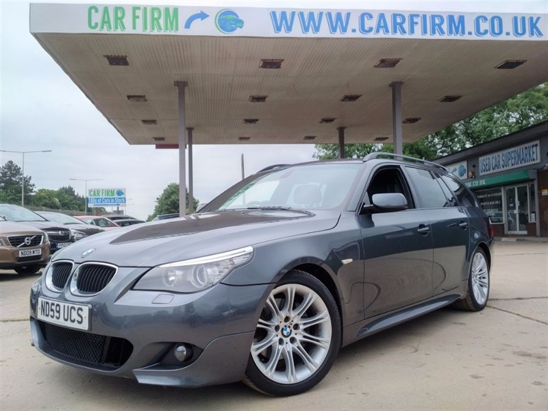used BMW 520d M SPORT BUSINESS EDITION TOURING in cambridgeshire