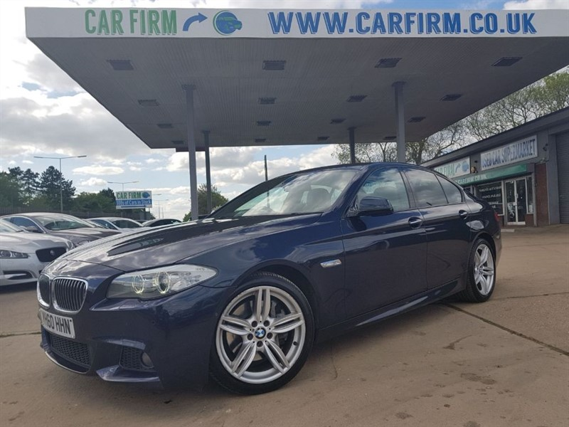 used BMW 535d M SPORT in cambridgeshire