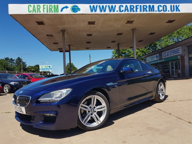 used BMW 640d M SPORT in cambridgeshire