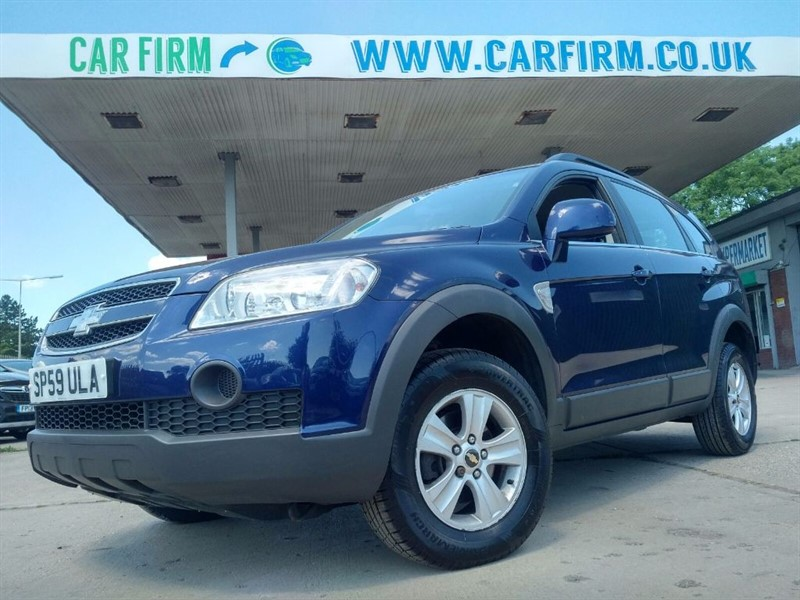 used Chevrolet Captiva LS VCDI in cambridgeshire