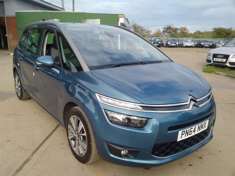 used Citroen C4 Picasso GRAND E-HDI AIRDREAM EXCLUSIVE in cambridgeshire
