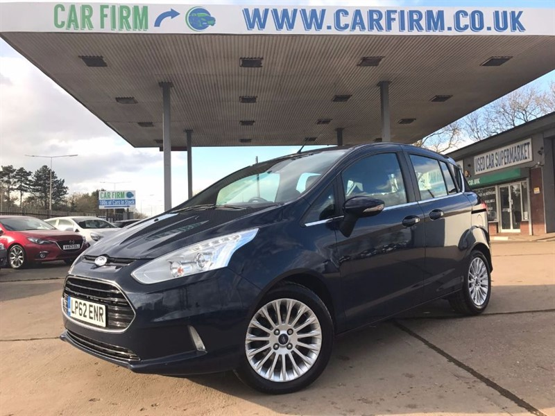 used Ford B-Max TITANIUM TDCI in cambridgeshire