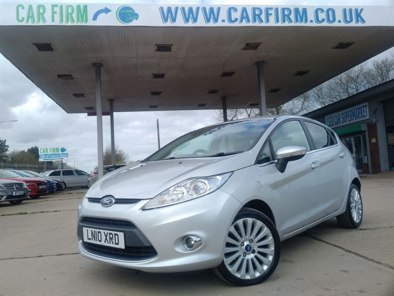 used Ford Fiesta TITANIUM TDCI in cambridgeshire