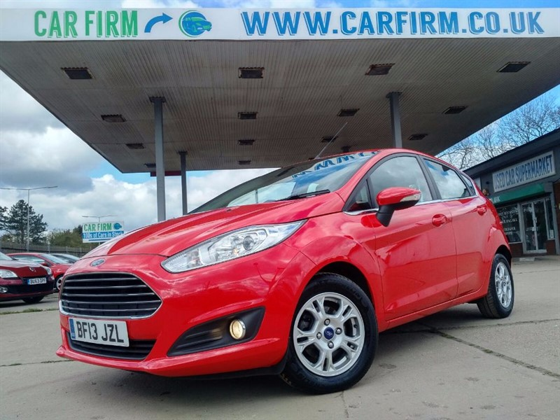 used Ford Fiesta ZETEC ECONETIC TDCI in cambridgeshire