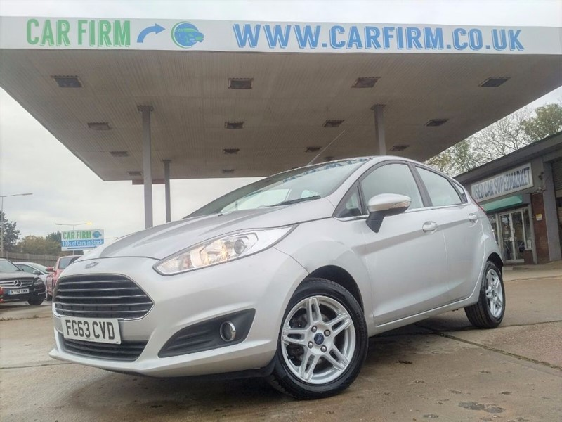 used Ford Fiesta ZETEC in cambridgeshire