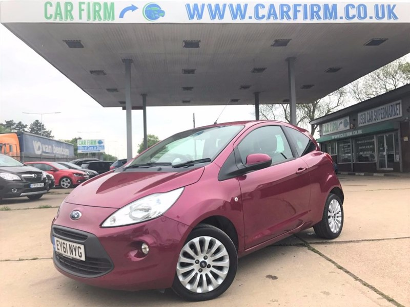 used Ford KA ZETEC in cambridgeshire