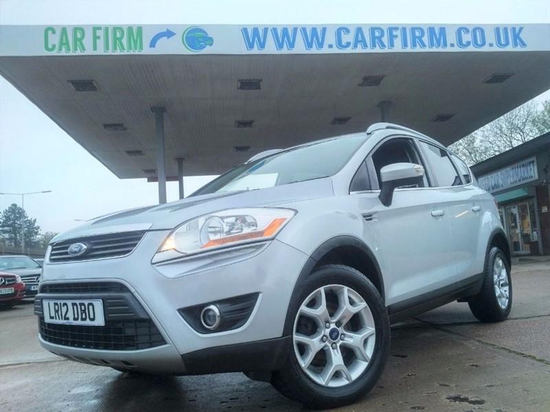 used Ford Kuga ZETEC TDCI 2WD in cambridgeshire