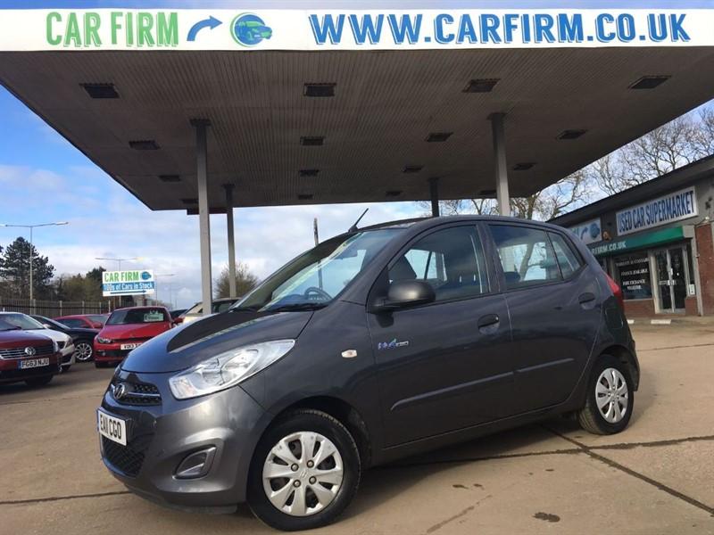 used Hyundai i10 BLUE in cambridgeshire