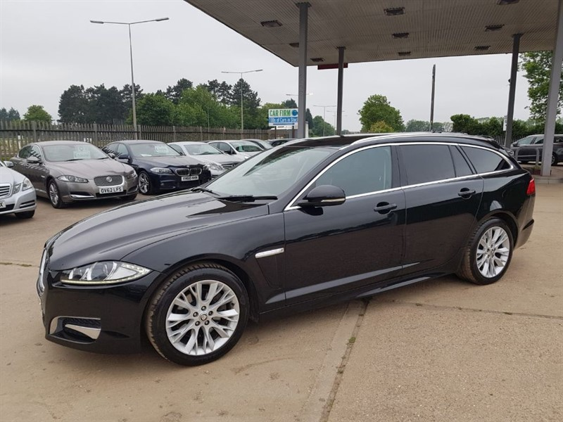 used Jaguar XF D SPORT SPORTBRAKE in cambridgeshire