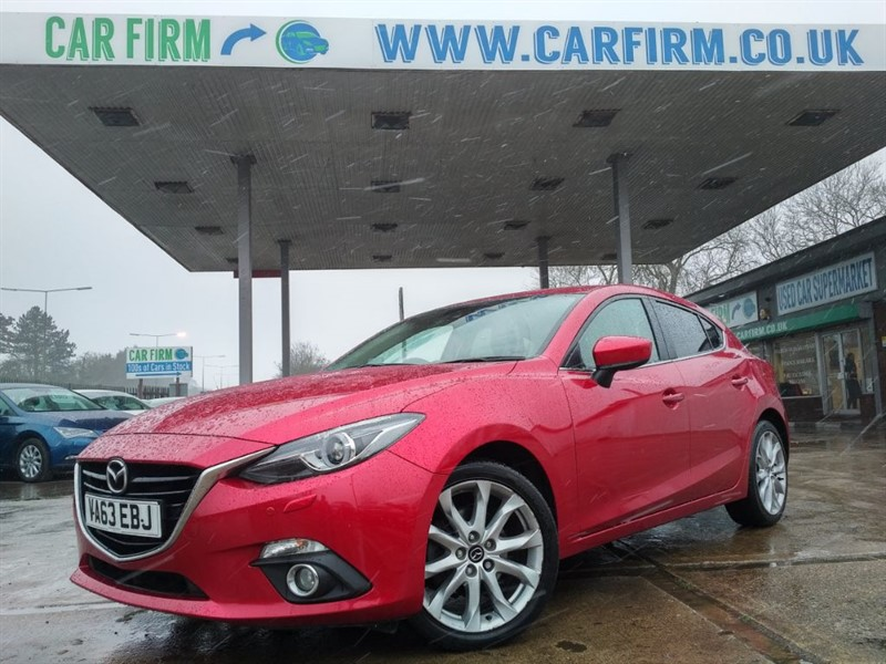 used Mazda Mazda3 3 SPORT NAV in cambridgeshire