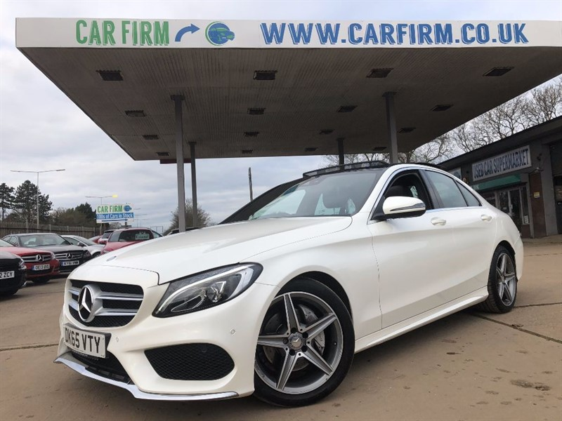 used Mercedes C220 D AMG LINE in cambridgeshire