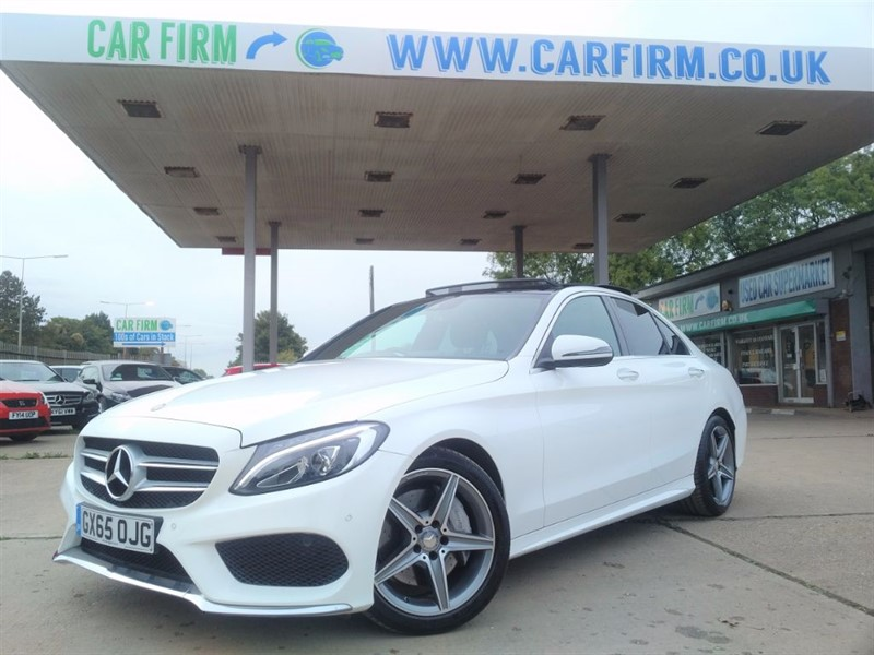 used Mercedes C250 D AMG LINE PREMIUM PLUS in cambridgeshire