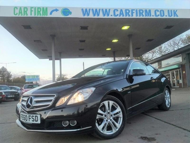used Mercedes E220 CDI BLUEEFFICIENCY SE in cambridgeshire
