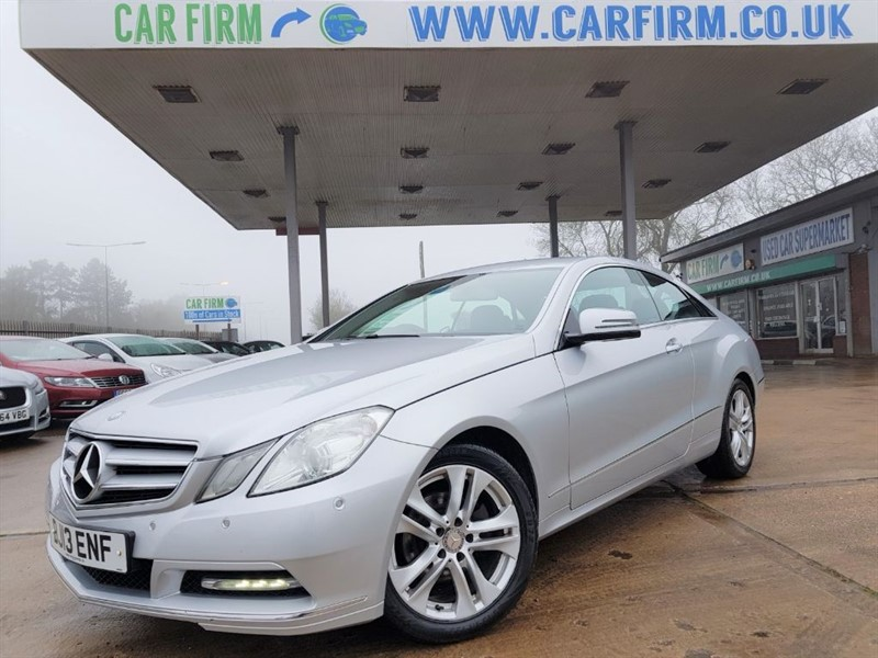 used Mercedes E220 CDI BLUEEFFICIENCY SE in cambridgeshire