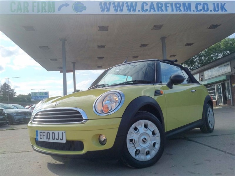used MINI Convertible ONE in cambridgeshire