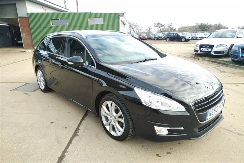 used Peugeot 508 HDI SW ACTIVE NAVIGATION VERSION in cambridgeshire