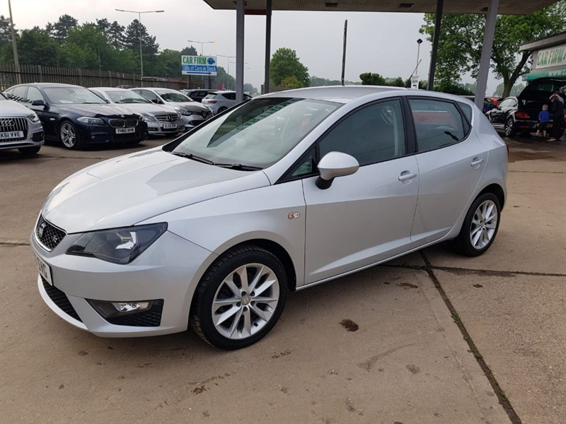 used SEAT Ibiza CR TDI FR in cambridgeshire