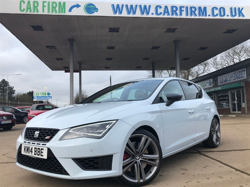 used SEAT Leon TSI CUPRA DSG in cambridgeshire