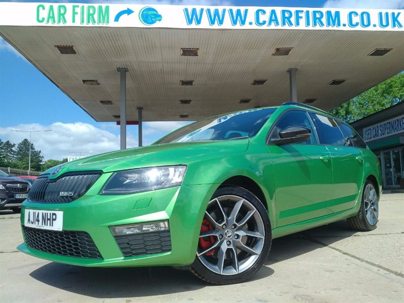 used Skoda Octavia VRS TSI DSG in cambridgeshire