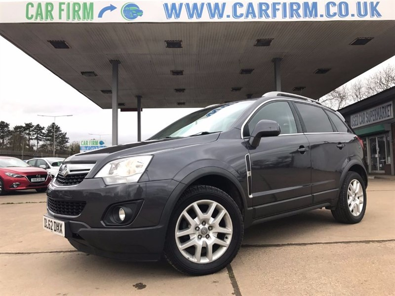 used Vauxhall Antara EXCLUSIV CDTI 4WD S/S in cambridgeshire