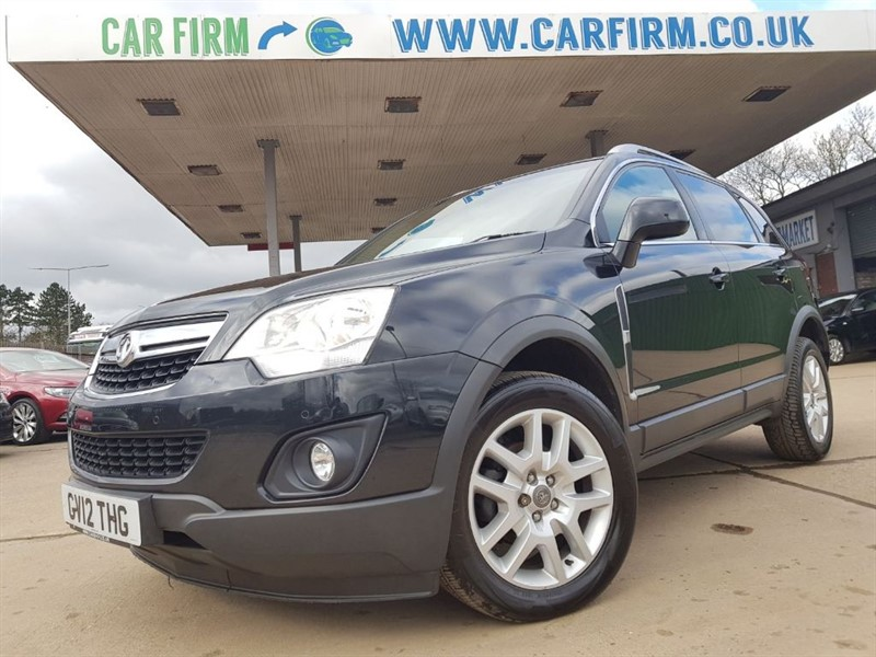used Vauxhall Antara EXCLUSIV CDTI 4WD in cambridgeshire