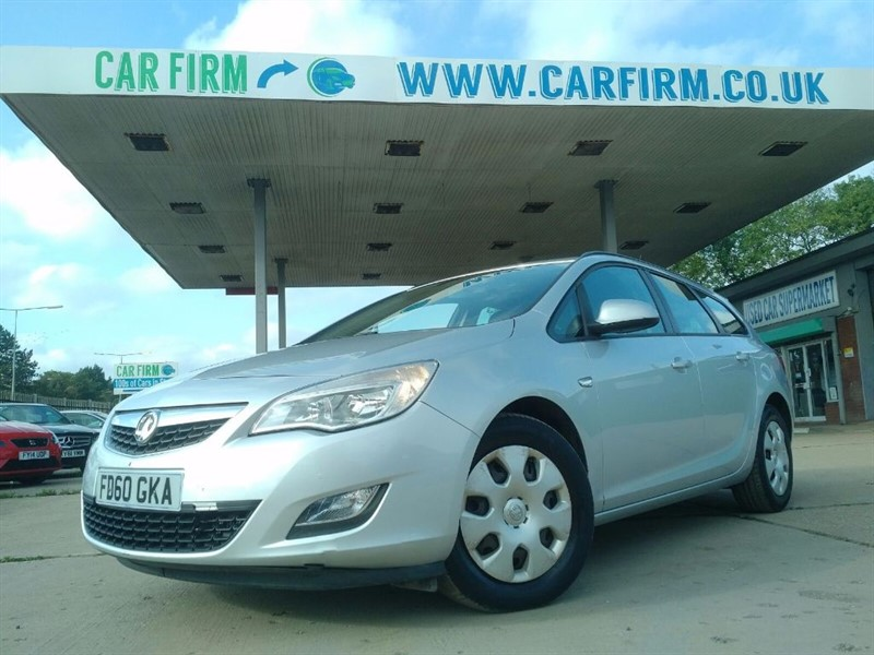 used Vauxhall Astra EXCLUSIV CDTI ECOFLEX in cambridgeshire