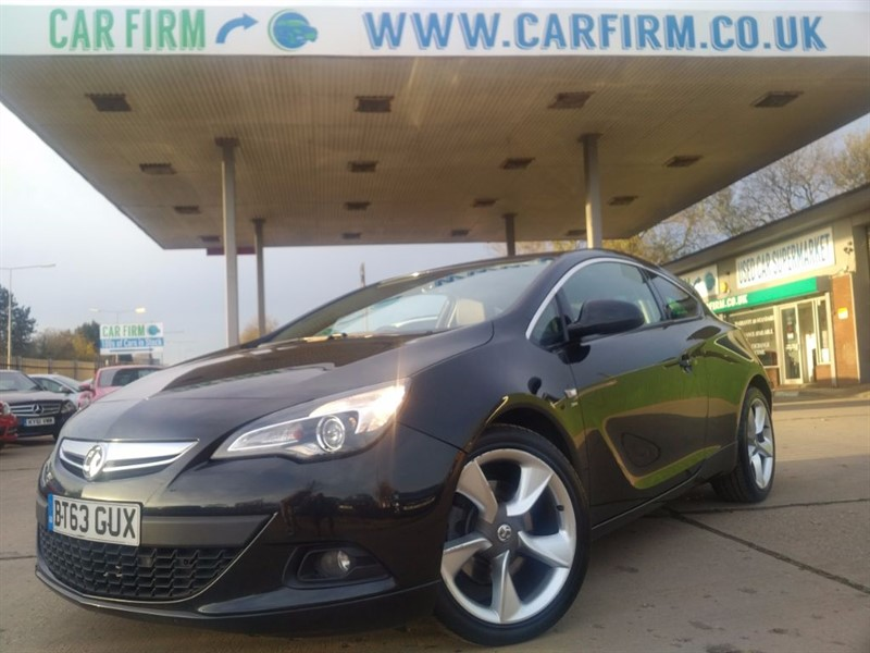 used Vauxhall Astra GTC SRI CDTI S/S in cambridgeshire
