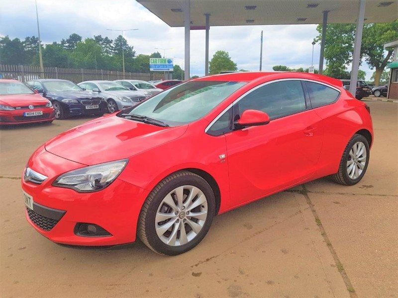 used Vauxhall Astra GTC SRI in cambridgeshire