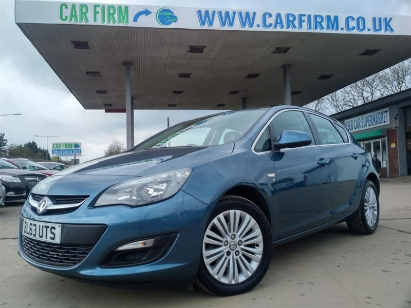 used Vauxhall Astra EXCITE CDTI in cambridgeshire