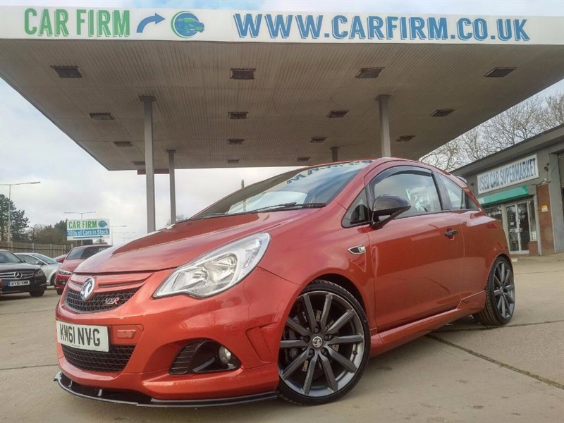 used Vauxhall Corsa VXR NURBURGRING EDITION in cambridgeshire