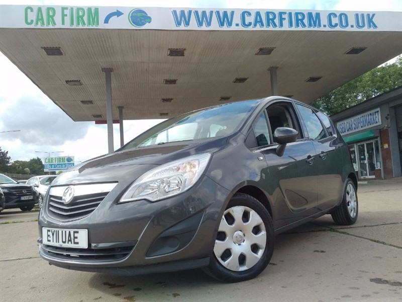 used Vauxhall Meriva EXCLUSIV CDTI in cambridgeshire