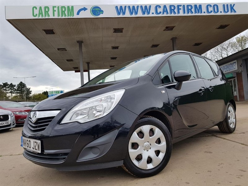 used Vauxhall Meriva EXCLUSIV in cambridgeshire