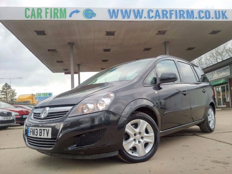 used Vauxhall Zafira EXCLUSIV CDTI ECOFLEX in cambridgeshire