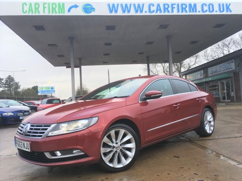 used VW CC GT TDI BLUEMOTION TECHNOLOGY in cambridgeshire