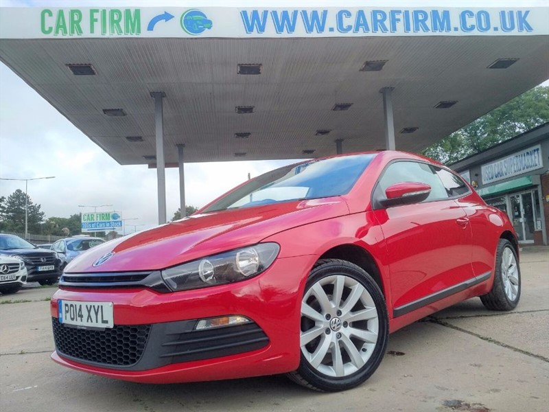 used VW Scirocco TDI BLUEMOTION TECHNOLOGY in cambridgeshire