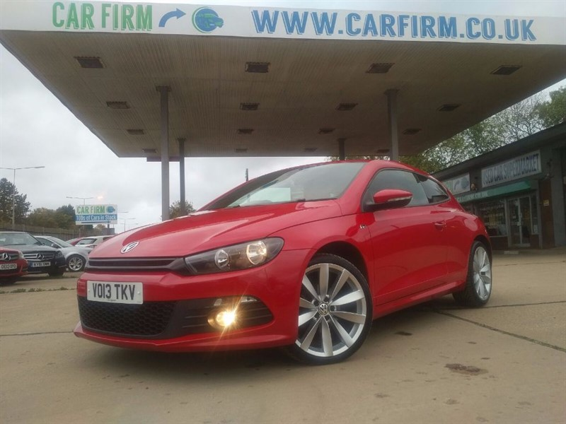 used VW Scirocco R LINE TDI BLUEMOTION TECHNOLOGY in cambridgeshire