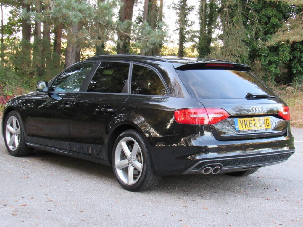 Used Black Audi A4 Avant For Sale Dorset border=