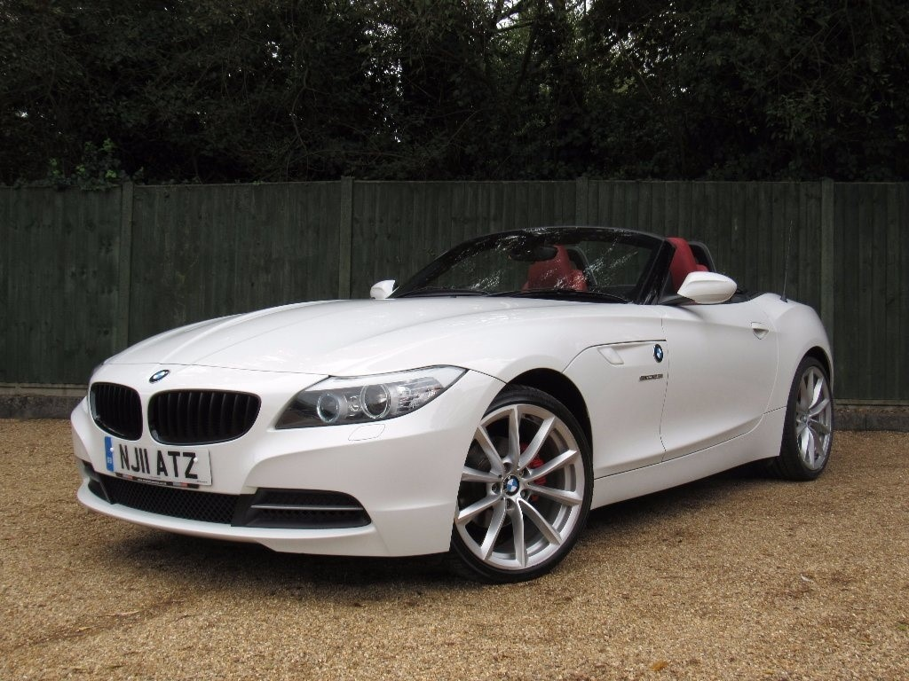 Used White Bmw Z4 For Sale Dorset